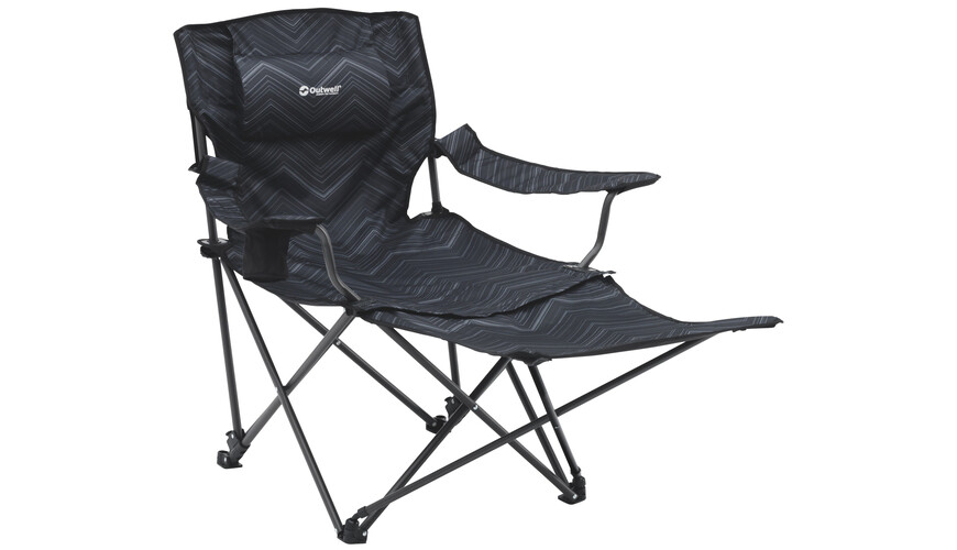 Outwell Windsor Hills Folding Chair Black